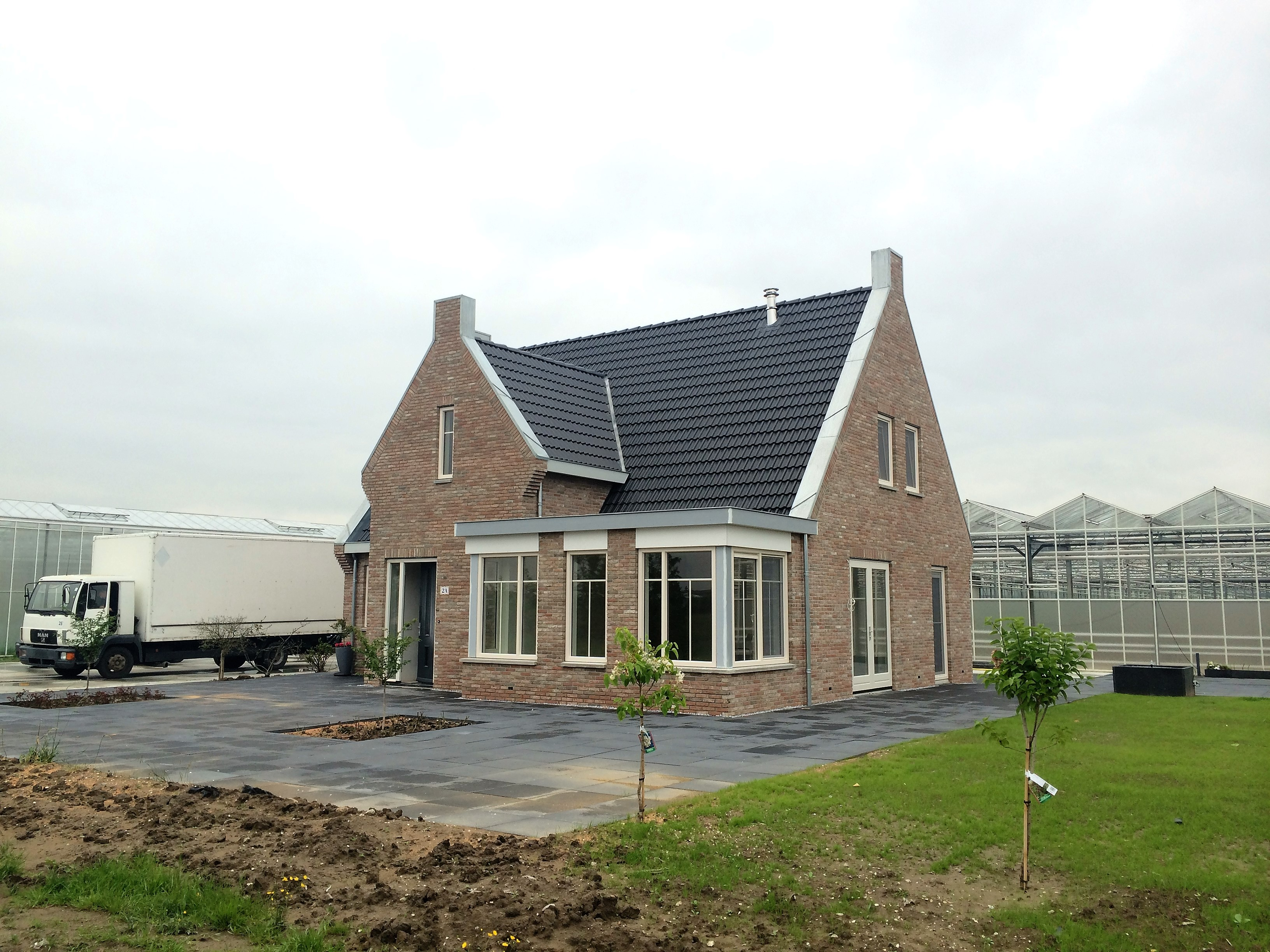 Vrijstaande woning te ridderkerk eigen huis bouwen for Prijzen nieuwbouw vrijstaande woning